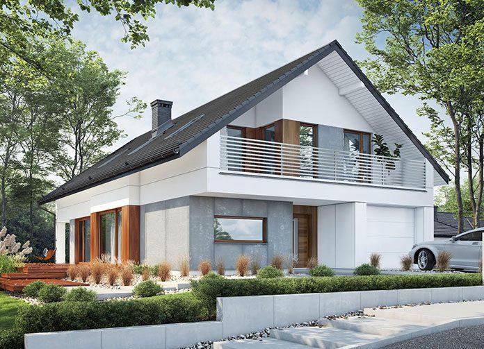 Projekt domu Nicea BBE104