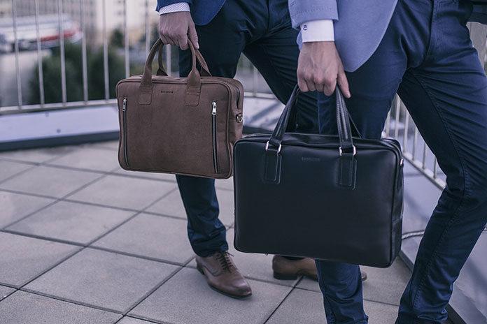 Modna torba na laptopa - propozycje dla mężczyzn od Brodrene