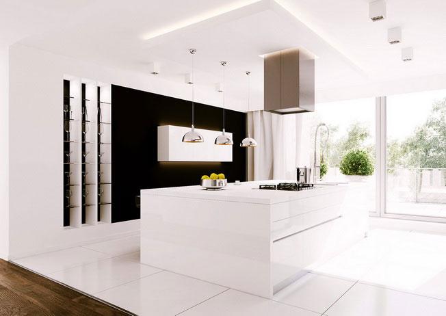 Jak umeblować kuchnię otwartą na salon?