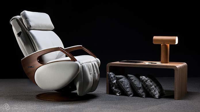 Designerski fotel masujący dla najbardziej wymagających