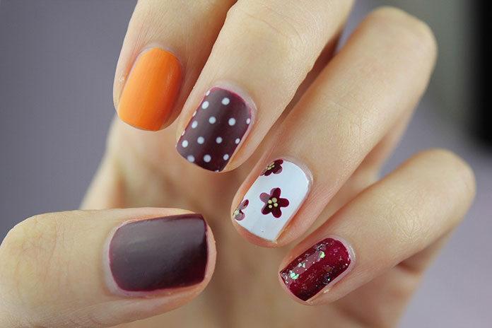 Modny manicure na zimę