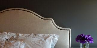 sypialnia w stylu retro